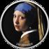 Монета «Девушка с жемчужной сережкой» Ян Вермеер-17