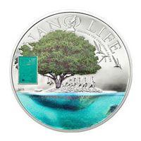 Аверс монеты «Нано-Жизнь»